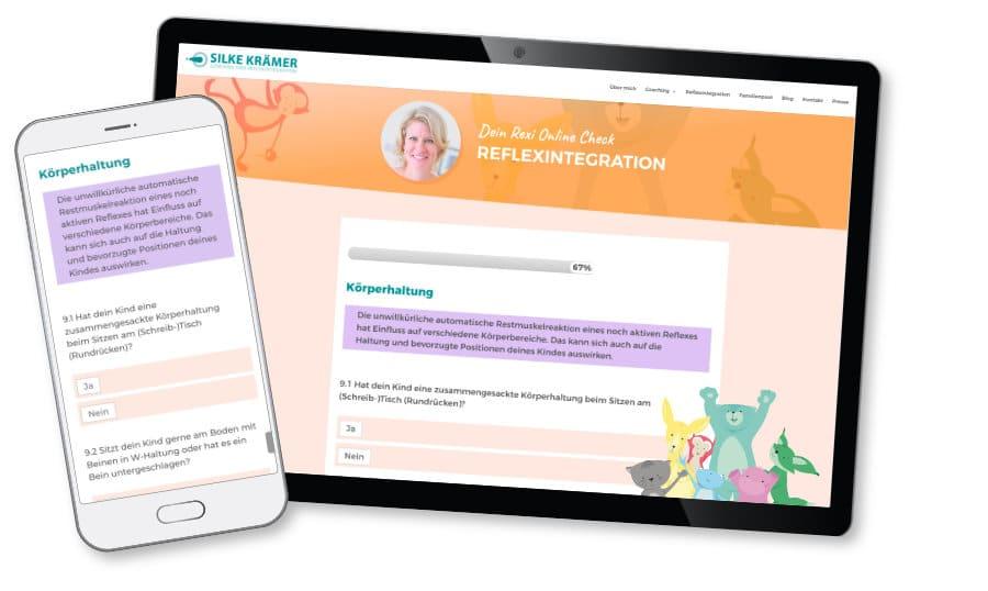 Reflexintegration Fragebogen - Dein Online Check mit Rexi 1